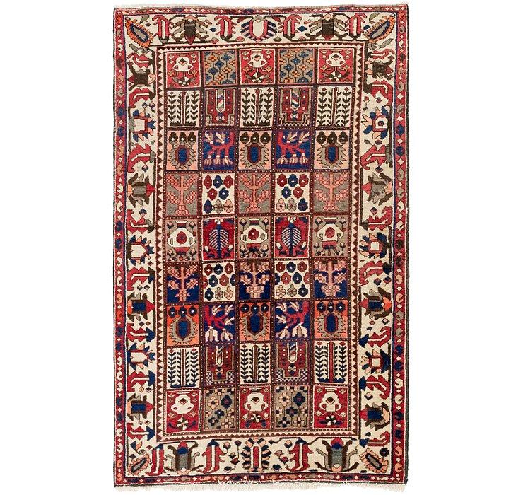 5' x 8' 4 Bakhtiar Persian Rug