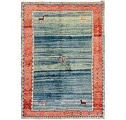 Link to 168cm x 230cm Shiraz-Gabbeh Persian Rug