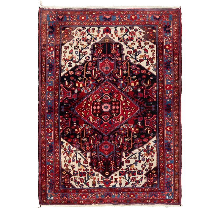 5' x 7' 3 Nahavand Persian Rug