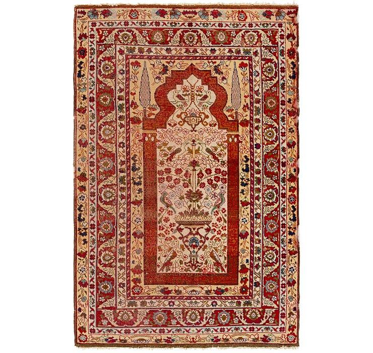 5' x 7' 10 Anatolian Rug