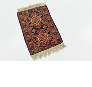 Link to 1' 5 x 2' 2 Shiraz Persian Rug