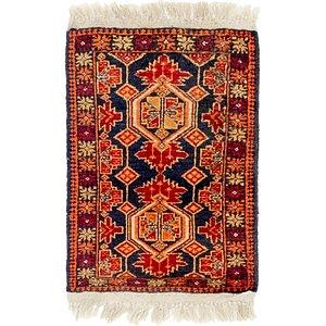 1' 5 x 2' 2 Shiraz Persian Rug