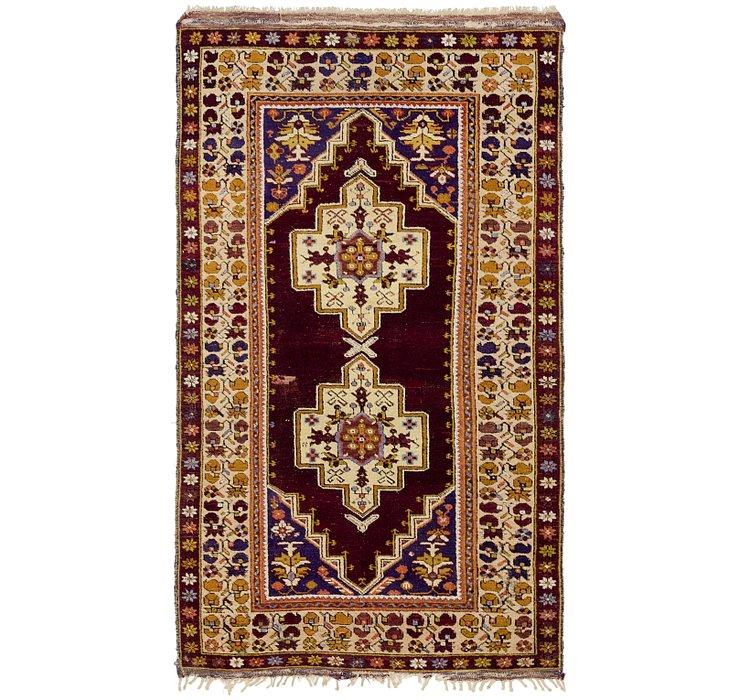 4' x 7' Anatolian Oriental Rug