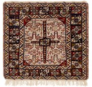 Link to 3' 9 x 3' 9 Sirjan Persian Square Rug
