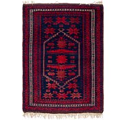 Link to 3' 8 x 5' 4 Balouch Persian Rug