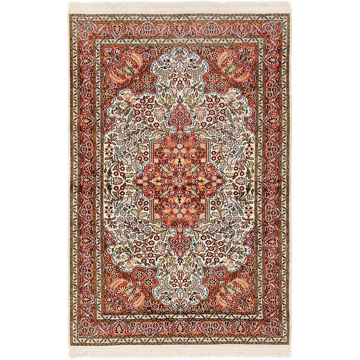 3' 6 x 5' 6 Kashmir Oriental Rug