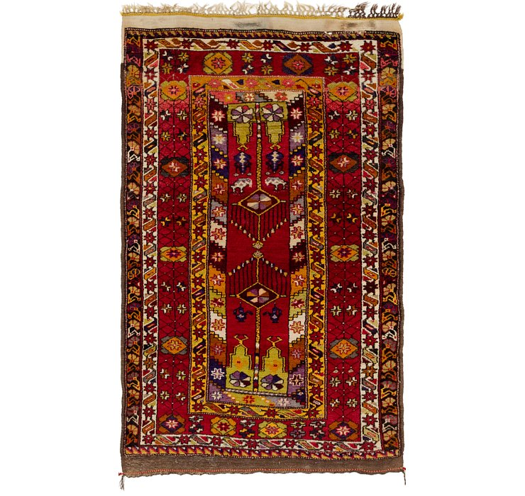 3' 9 x 6' 10 Anatolian Oriental Rug