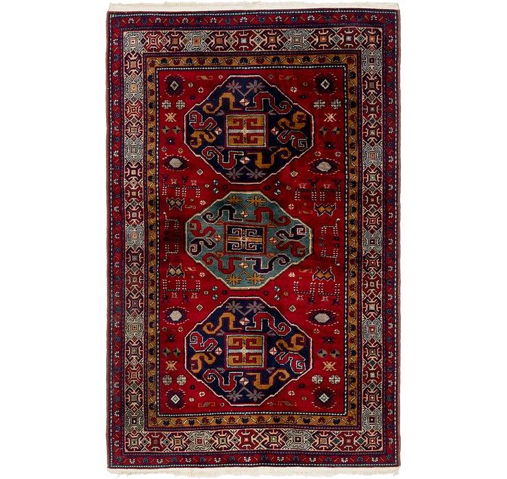 122cm x 195cm Kazak Oriental Rug