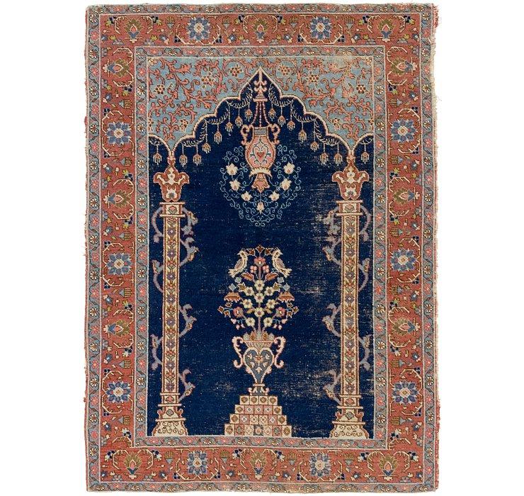 4' 5 x 6' 4 Lahour Persian Rug