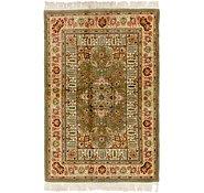 Link to 140cm x 205cm Tabriz Persian Rug
