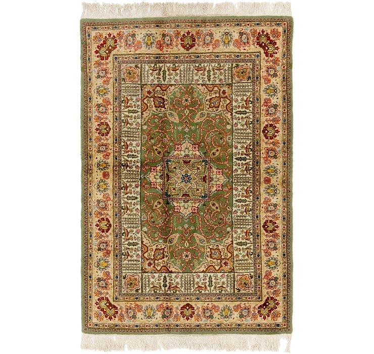 4' 7 x 6' 9 Tabriz Persian Rug