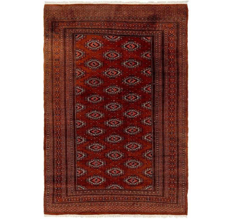 4' 2 x 6' 4 Bokhara Persian Rug