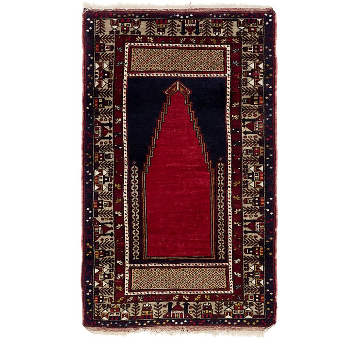 3' 10 x 6' 2 Anatolian Oriental Rug
