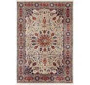 Link to 127cm x 188cm Tabriz Oriental Rug