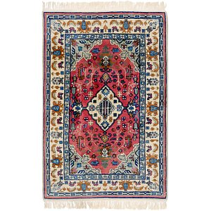 HandKnotted 4' x 6' Romani Rug