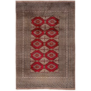 Link to 4' 3 x 6' 6 Bokhara Oriental Rug item page
