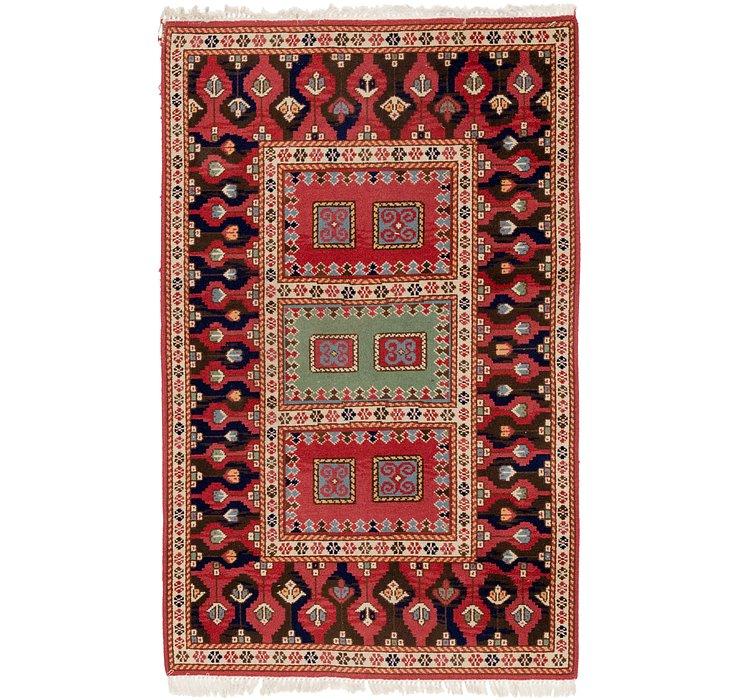 3' 10 x 6' 4 Anatolian Oriental Rug