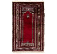 Link to 3' 3 x 5' 3 Lahour Oriental Rug