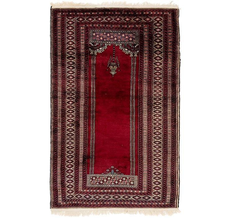 3' 3 x 5' 3 Lahour Oriental Rug