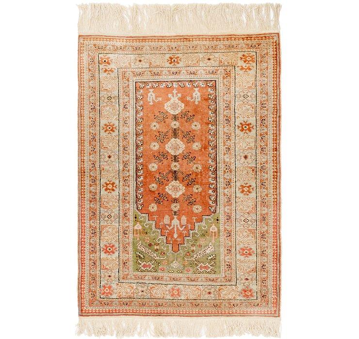 3' x 4' 3 Lahour Oriental Rug