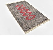 Link to 3' 2 x 5' 4 Bokhara Oriental Rug