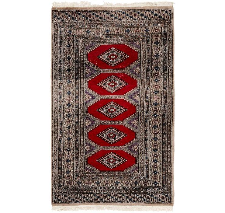 3' 2 x 5' 4 Bukhara Oriental Rug