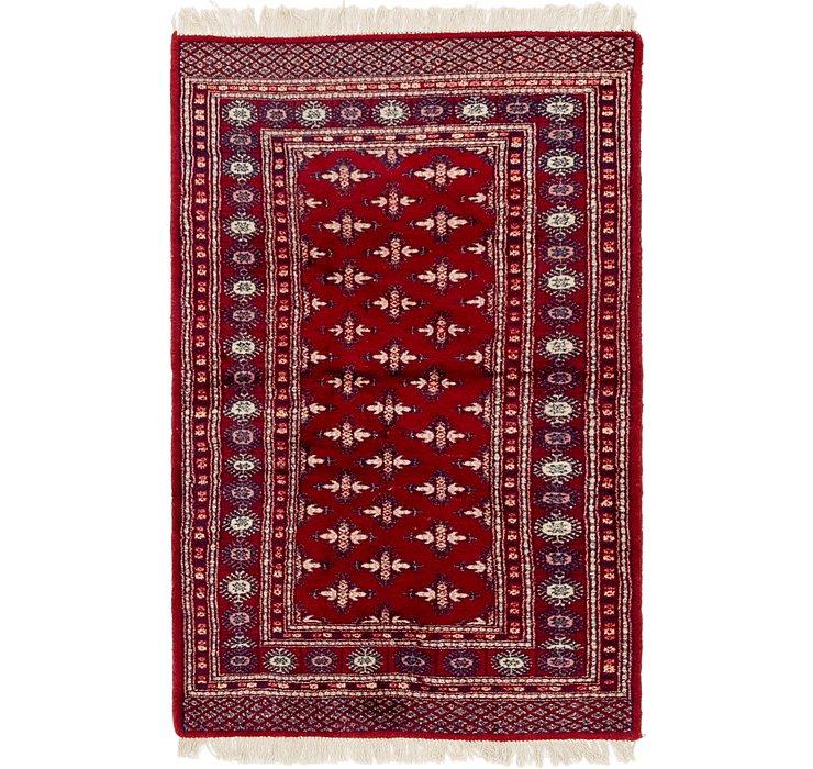 3' 4 x 5' 3 Bokhara Oriental Rug