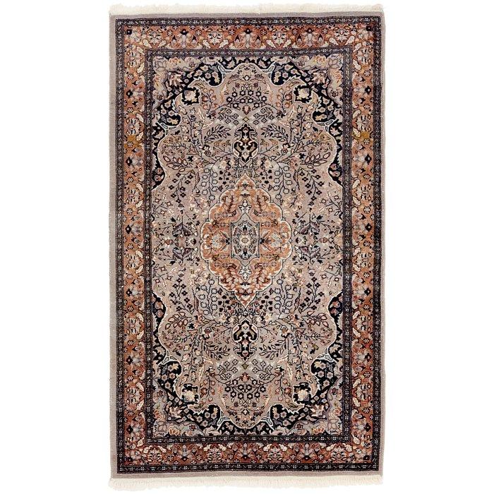 3' x 5' 3 Tabriz Oriental Rug