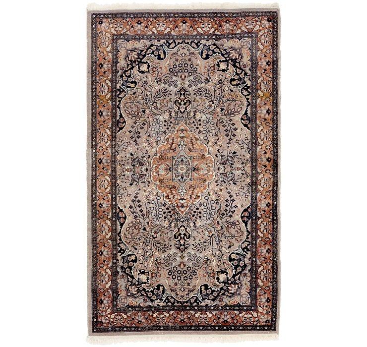 90cm x 160cm Tabriz Oriental Rug