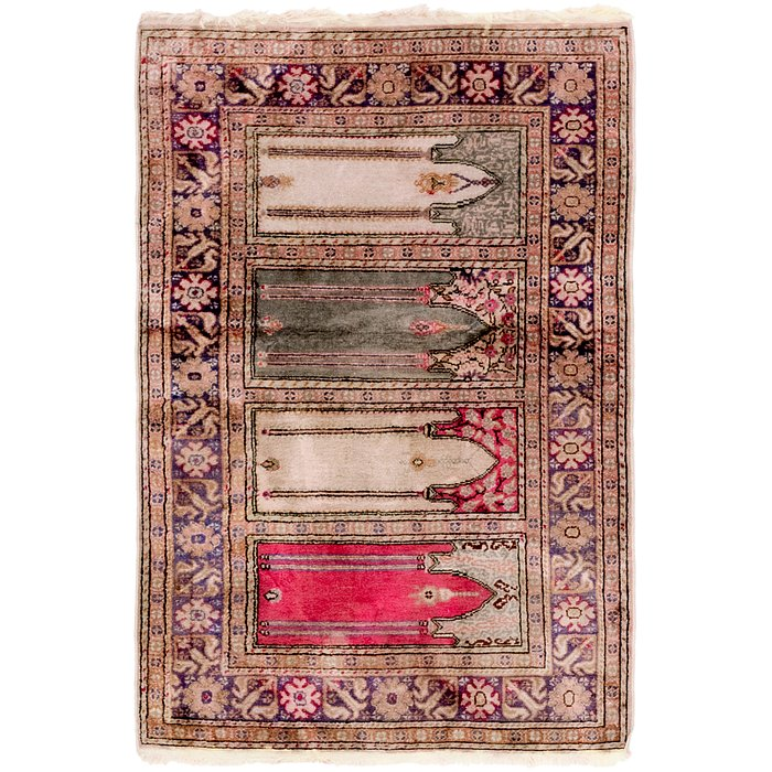 3' x 4' 4 Lahour Oriental Rug