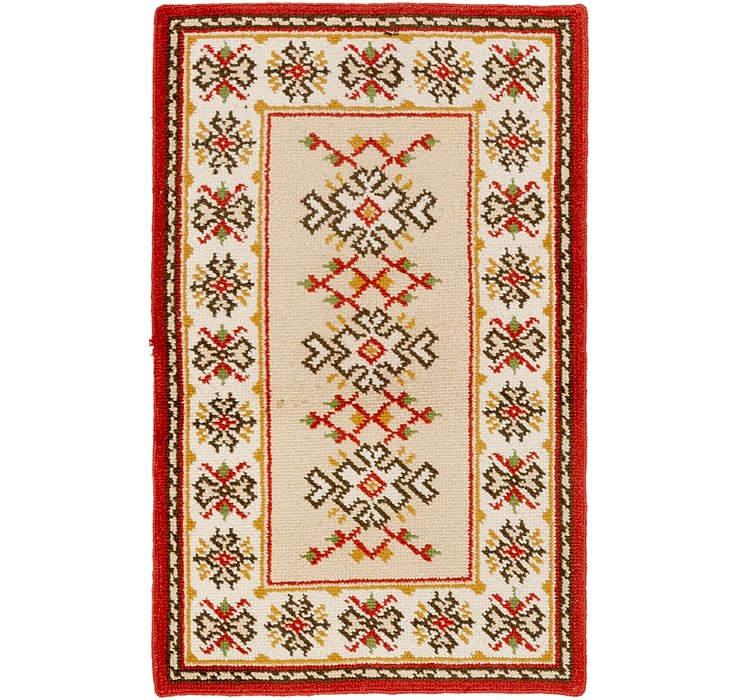 HandKnotted 3' 3 x 5' 2 Moroccan Rug