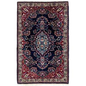 97cm x 152cm Kashan Oriental Rug