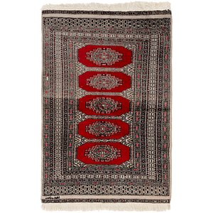 Link to 3' 3 x 5' Bokhara Oriental Rug item page