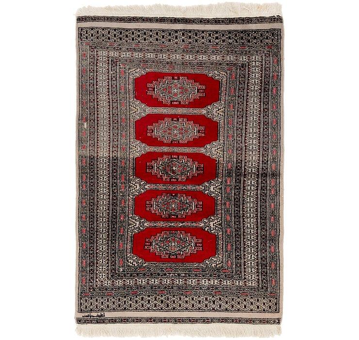 3' 3 x 5' Bokhara Oriental Rug