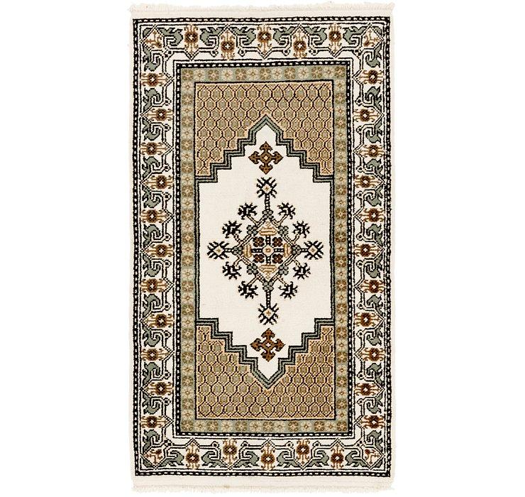 3' x 5' 2 Moroccan Rug