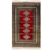 Link to 97cm x 152cm Bokhara Oriental Rug