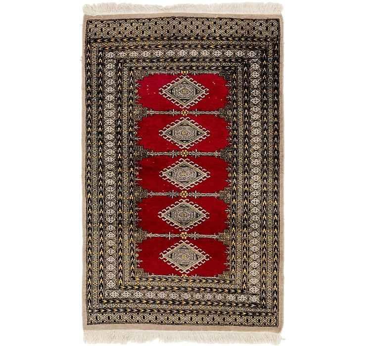 97cm x 152cm Bokhara Oriental Rug