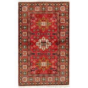 Unique Loom 3' x 5' Romani Oriental Rug