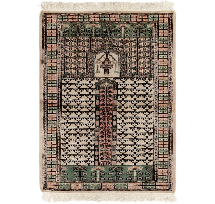 2' 8 x 3' 9 Bokhara Oriental Rug