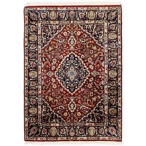 Link to 3' 4 x 4' 9 Mashad Oriental Rug item page