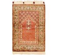 Link to 2' 10 x 4' 4 Hereke Oriental Rug