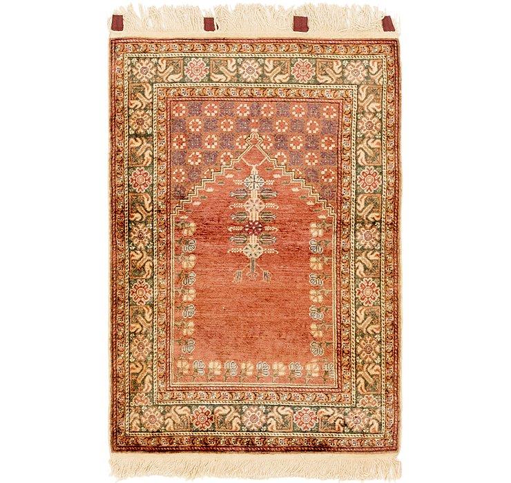 2' 10 x 4' 4 Hereke Oriental Rug