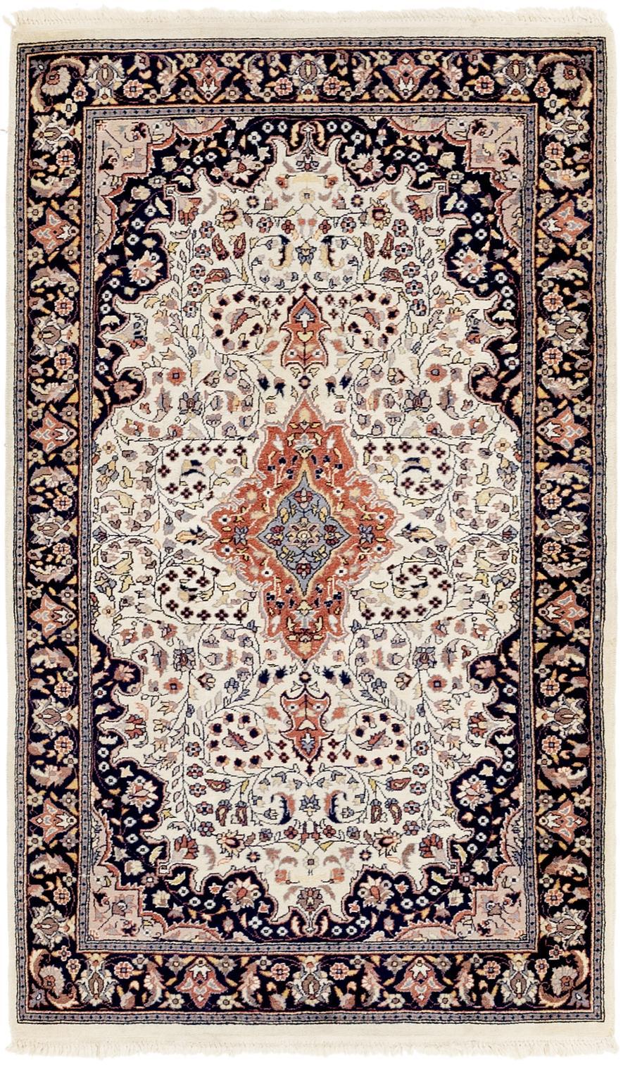 Main Handknotted 3 X 5 Tabriz Oriental Rug Photo