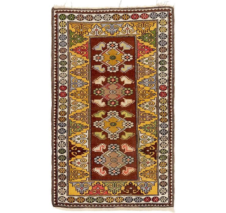 3' 2 x 5' 2 Kars Oriental Rug