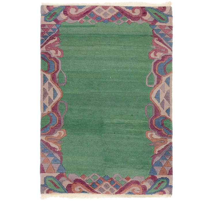 4' 3 x 6' 2 Indo Tibet Rug