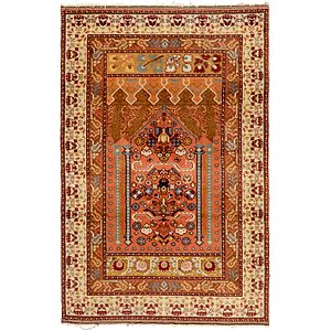 HandKnotted 3' 10 x 6' Romani Rug