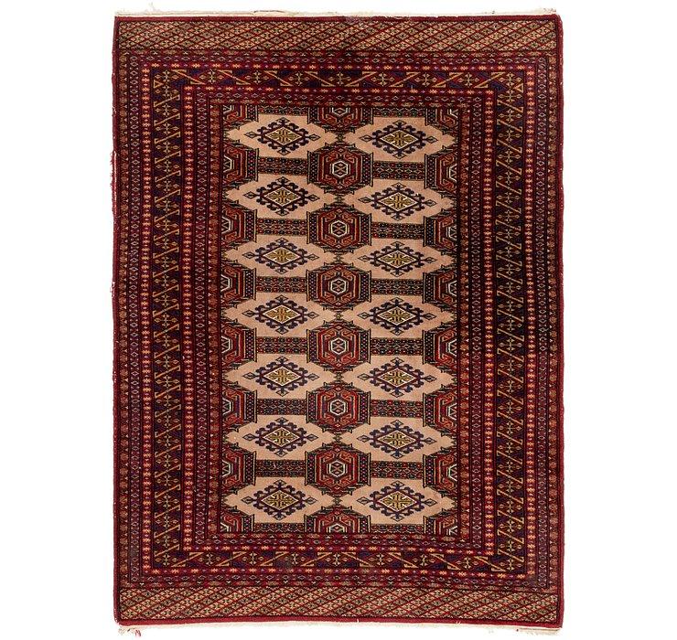 4' x 5' 8 Bokhara Oriental Rug
