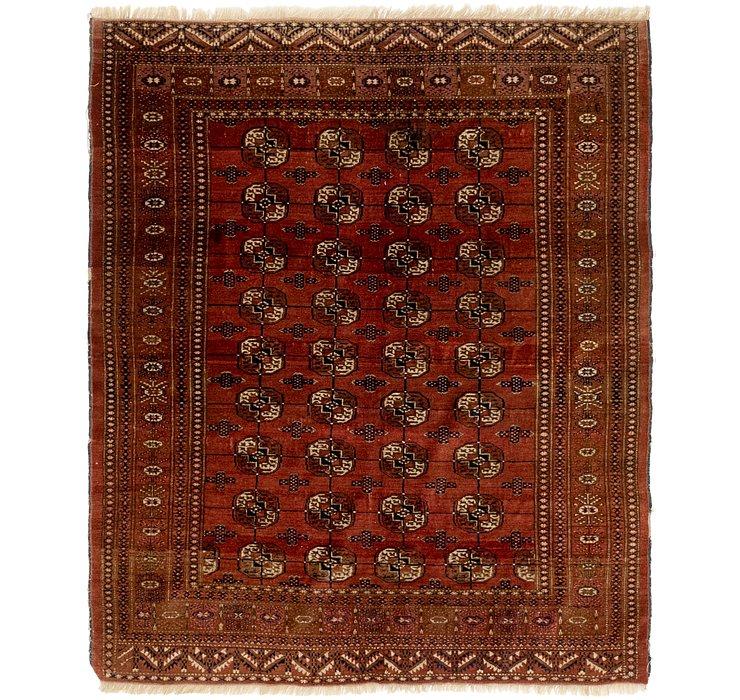 4' 7 x 5' 7 Bokhara Oriental Rug