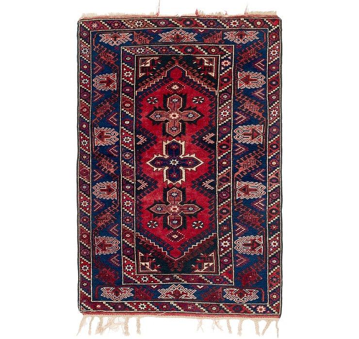4' x 6' 6 Kars Oriental Rug