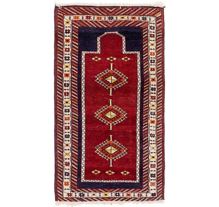 3' 3 x 6' 4 Anatolian Oriental Runn...